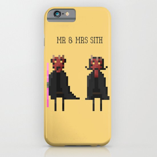 Mr & Mrs Sith iPhone & iPod Case