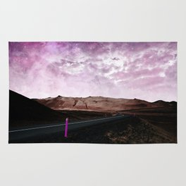 road to pink Rug