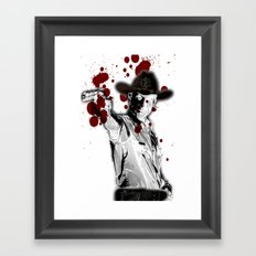 UNREAL PARTY 2012 THE WALKING DEAD Framed Art Print