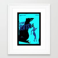 pulp Framed Art Prints featuring Pulp ! by malobi