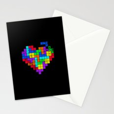 The Game of Love -Dark version Stationery Cards