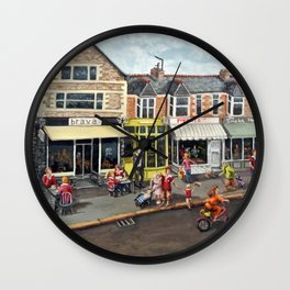 Cardiff Rugby Day Wall Clock
