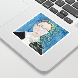 Ruth Bader Ginsberg Sticker