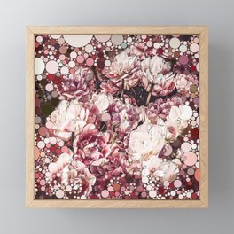 Bubble Flower Mix 1 Framed Mini Art Print