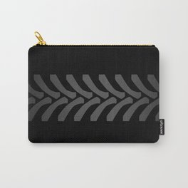 Black Tyre Marks Carry-All Pouch