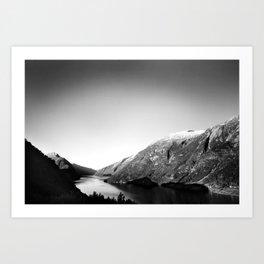 Fjærlandsfjorden Art Print