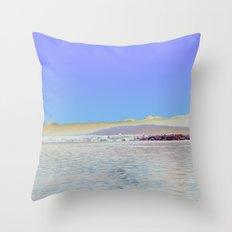 Chromascape 9: Geneva Throw Pillow