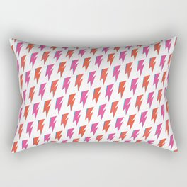 David Bowie Flash Rectangular Pillow