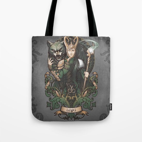House of Loki: Sons of Mischief Tote Bag