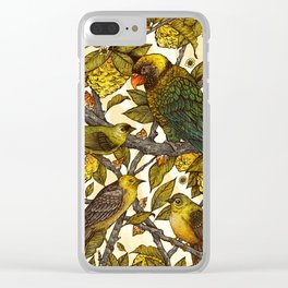 Citrine Clear iPhone Case