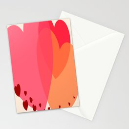 Heart love Stationery Cards