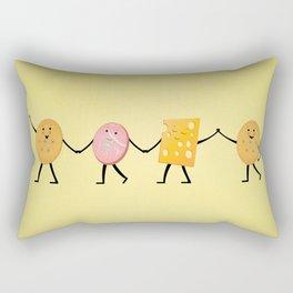 Lunchables - Best Friends Rectangular Pillow