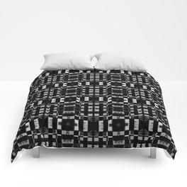 Graphite Milk Crate Razor Blades Comforters