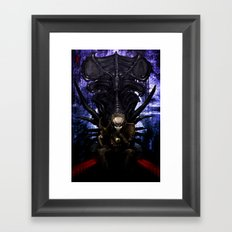 King Predator Framed Art Print