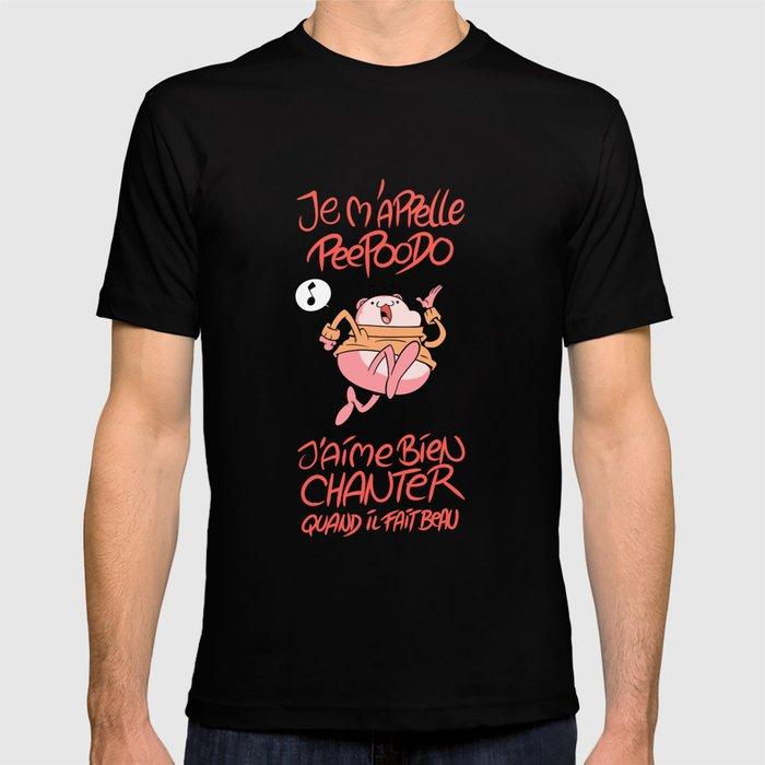 Peepoodo's song T-shirt