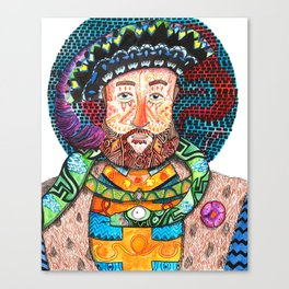 Henry the Snake Canvas Print