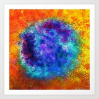Plasmic Earth Number One Art Print