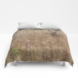 Autumn - Buck in Tennessee Comforters