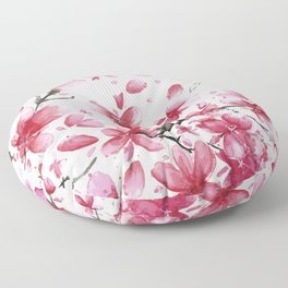 Cherry Blossoms #society6 #buyart Floor Pillow