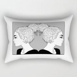 I like big Buns Rectangular Pillow