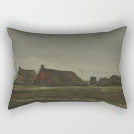 Cottages Rectangular Pillow