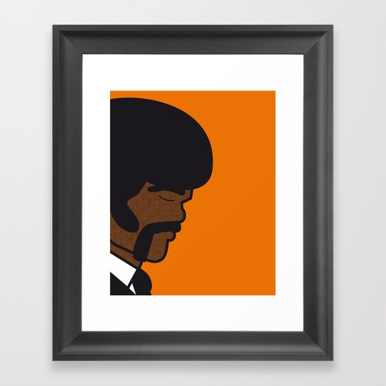 Pop Icon - Jules Framed Art Print