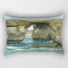 Window of Azure Rectangular Pillow