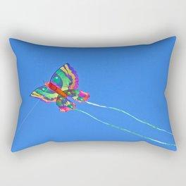 High Flying Butterfly Kite Rectangular Pillow