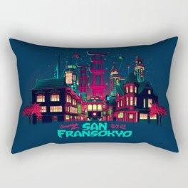 Greetings from San Fransokyo Rectangular Pillow