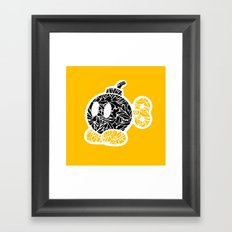 Bob Omb #CrackedOutBadGuys Framed Art Print
