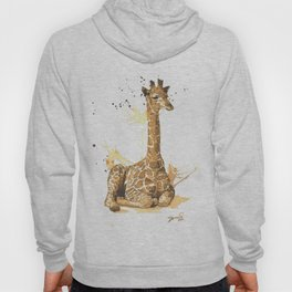 Coffee giraffe Hoody