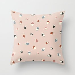 Every oak tree started out as an acorn Throw Pillow