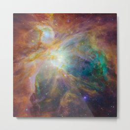 1543. Chaos at the Heart of Orion Metal Print