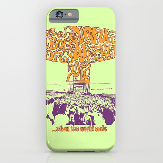 When the World Ends iPhone & iPod Case