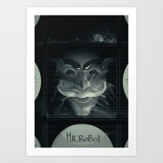 Hack the picture Art Print