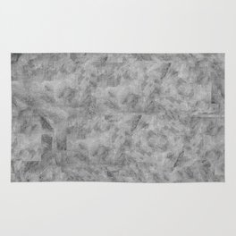 Textures Series - Painted Canvas Rug