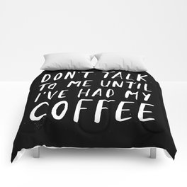 Coffee First Comforters