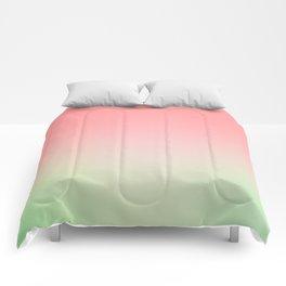 Watermelon Gradient Comforters
