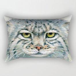 Pallas's cat 862 Rectangular Pillow