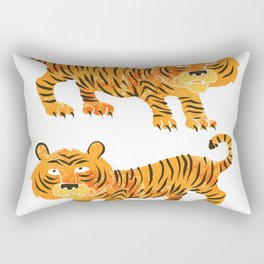 chinese tiger Rectangular Pillow