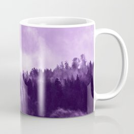 Clear away the fog to see the light. Purple Coffee Mug