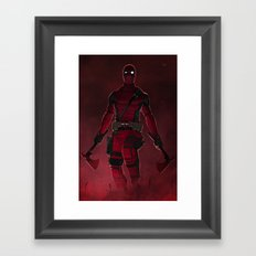 Overhanging Framed Art Print