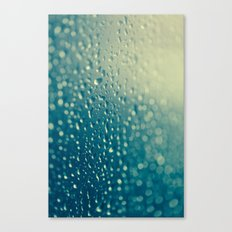 Water Droplets Canvas Print