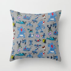 Ihme Ilmiö by Ukko Ruusulampi Throw Pillow