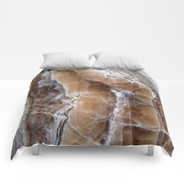 Marble Paint Formation Comforters