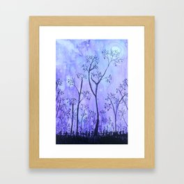 Mystical Moonlight Framed Art Print