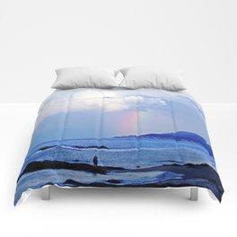 Love under the Rainbow Comforters