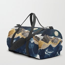 Midnight Winter Duffle Bag