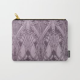 Lavender,art nouveau,vintage,beautiful,floral,belle époque,pattern,elegant, chic,modern,trendy Carry-All Pouch