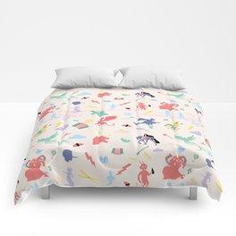 Mythological pattern Comforters
